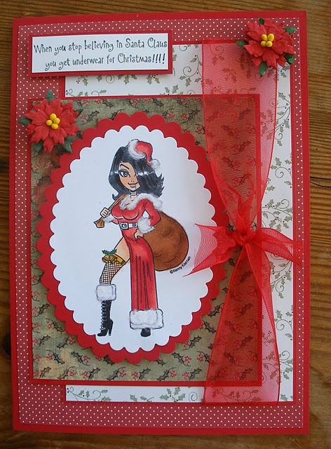 Saucy Christmas My Cards Pinterest