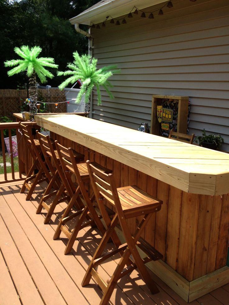 Pier Bar Table