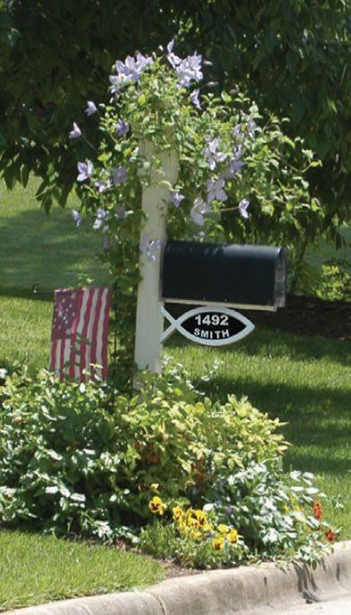 mailbox garden cute