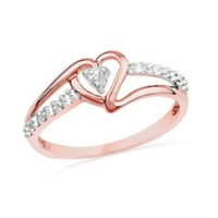 Rose Gold Rings: Rose Gold Rings From Zales Jewelry