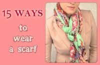 Pin by Betty Smith on How to wear a scarf   Pinterest