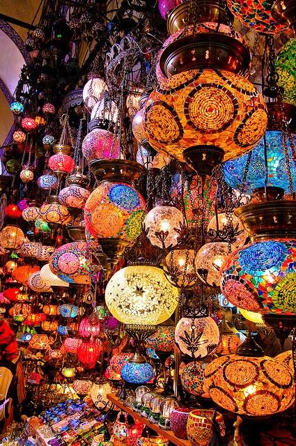 Grand Bazaar, Istanbul.  Photo by: IzaD