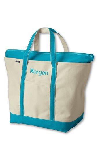 lands end monogrammed bags