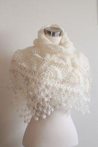 Bridal Shrug and Bolero Shawl // Winter Wedding //Bridal ...