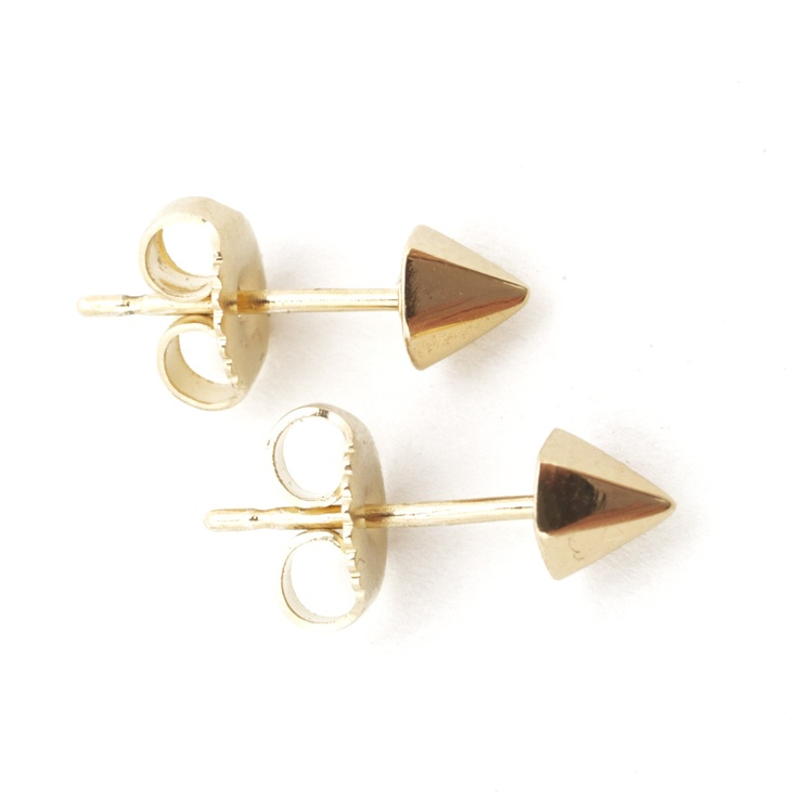 Spike Stud Earrings Small