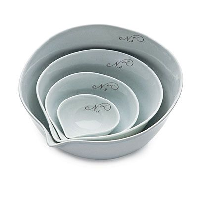 Pretty and practical! Mixing Bowls from Gleena (gleena.com)