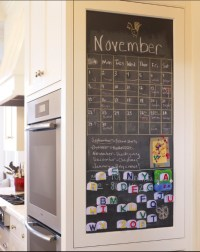kitchen chalk/magnet board | For the house | Pinterest