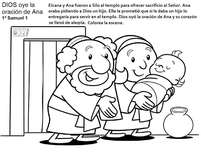 Hannah Prayed Coloring Page Coloring Coloring Pages