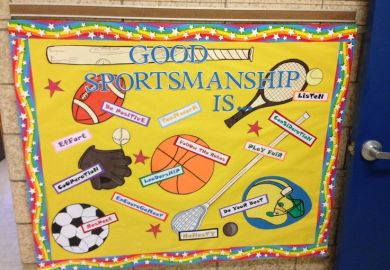 Ideas About Pe Bulletin Boards On Pinterest