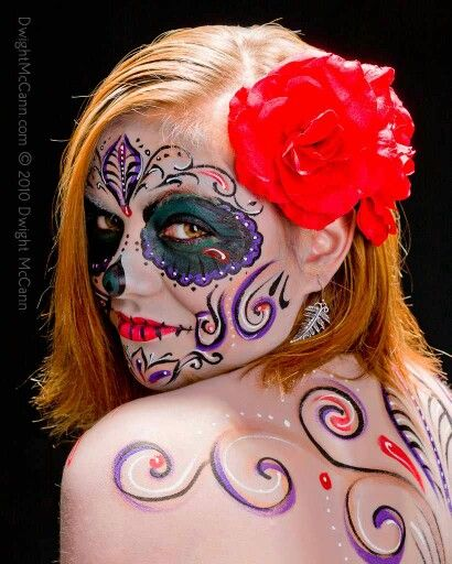 Cool Day Of The Dead Hairstyles Calendar Template For Wordpad Short Hairstyles For Black Women Fulllsitofus