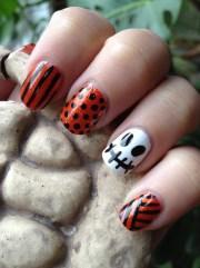 super cute halloween nail art