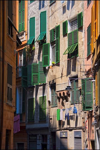 Persiane Verdi, Genova, ITALIA
