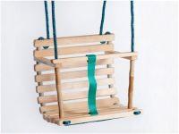 Wooden Handmade Swing UNPAINTED, Baby Swing, Wooden Swing ...