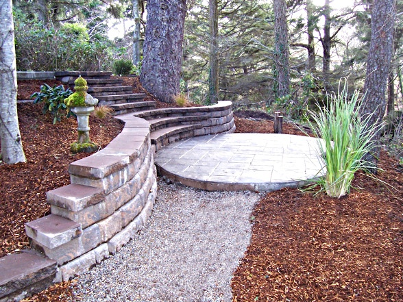 hardscaping ideas small backyards