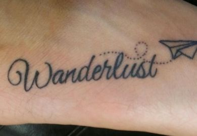 Tattoos In The Foot For Girls