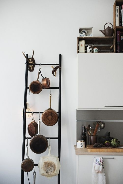 Simple pot rack