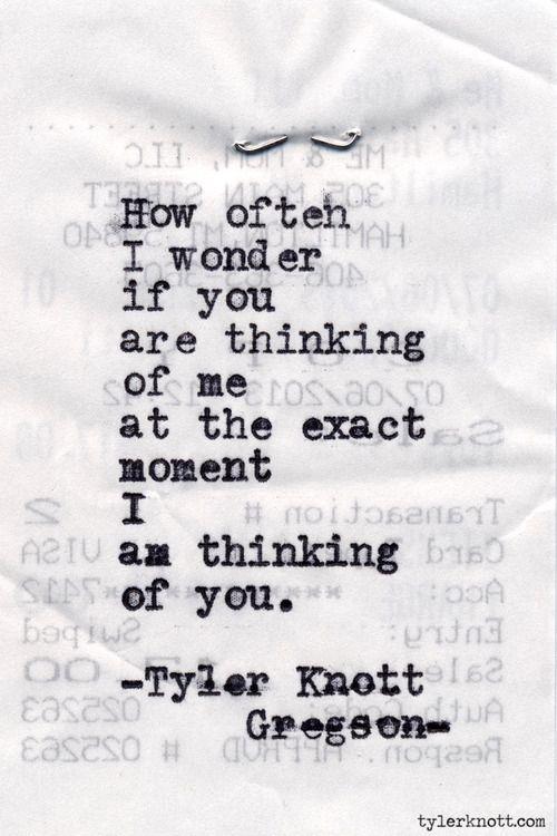 Typewriter Series #470by Tyler Knott Gregson