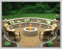 Outdoor Patio Ideas With Firepit | For the Home | Pinterest