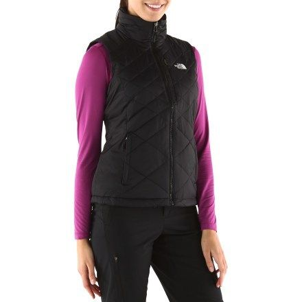 The North Face Red Blaze Vest Womens Its The Look Pinterest
