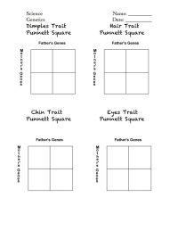 Celebrity Punnett Squares handout.pdf | For the Classroom ...