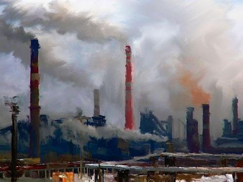 industrial landscape urban