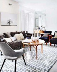 grey themed living room | Rustic living room | Pinterest