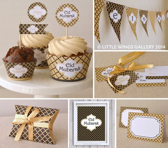 Printable Eid Decorations Pack Moroccan by LittleWingsGallery, $10.00