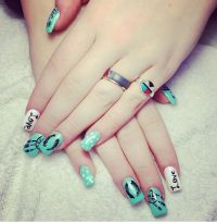 Cute Nail Idea for Teens | Do it yourself | Pinterest