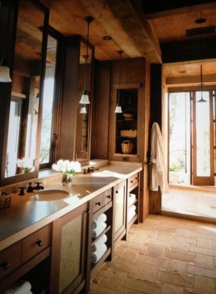 rustic master bathroom Rustic Master Bathroom Designs
