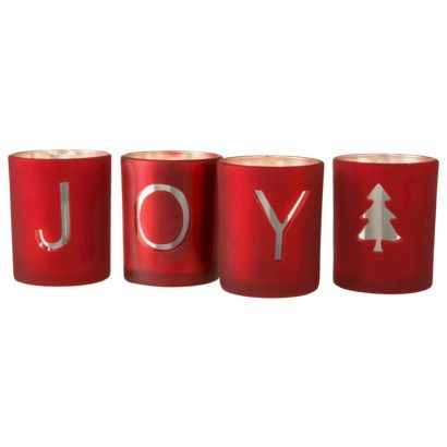 Threshold Joy Votive Holder set of 4