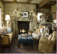 English cottage living space | Living Spaces | Pinterest
