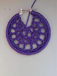 how to make crochet earrings