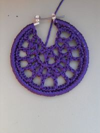 how to make crochet earrings - DriverLayer Search Engine
