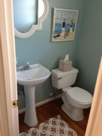 Beach Themed Bathroom | New master bathroom ideas | Pinterest