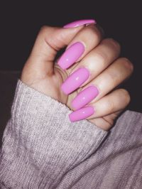 Almond Shape Pink And White Nails | Joy Studio Design ...