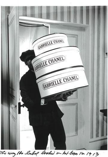 Gabrielle 'Coco' Chanel 1913, l'etichetta originale