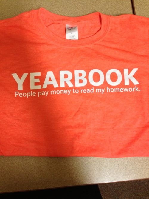 It's Not Personal, It's Yearbook