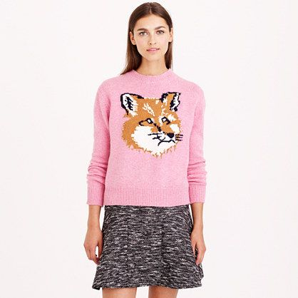 J.Crew - Maison Kitsuné® fox head pullover