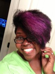 straighten natural hair with manic