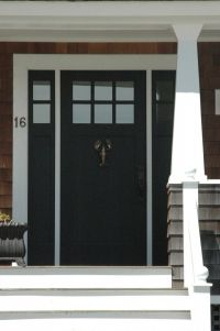 Entry door and sidelites