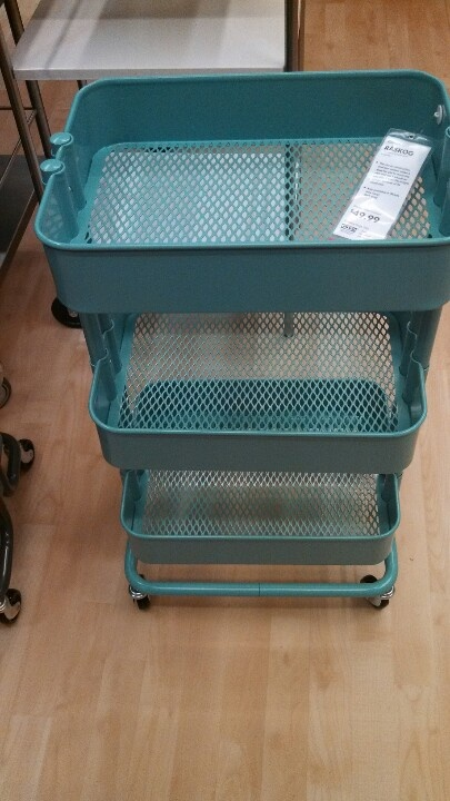 Rolling craft cart4999 ikea  For the Home  Pinterest