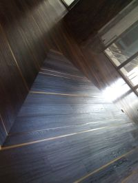 Wood floors with metal inlays | Flooring | Pinterest