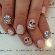 halloween nail design nails
