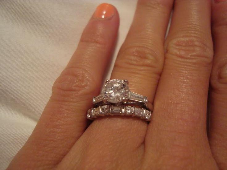 Weddingplans Carat On A Stick Anniversary Ring Pinterest