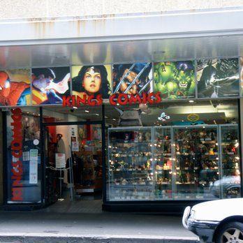Comic Book STORE Window Displays