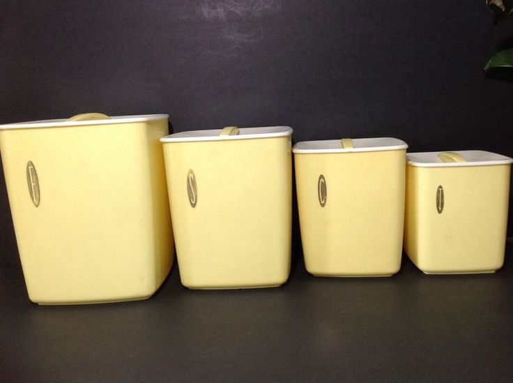 Yellow Vintage Kitchen