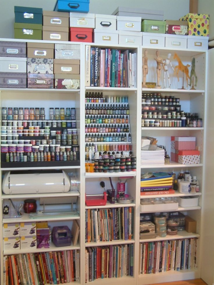 Organization  Craft Room  Pinterest