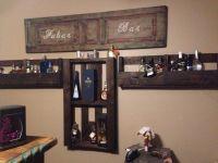 Bar bottle holder #Bar, #Pallet   Reciclar   Pinterest