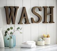 Wash Wall Art | Pottery Barn | Craft Projects | Pinterest