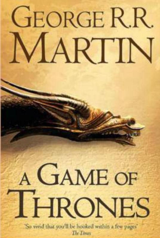 Game Of Thrones - book cover | Geekism | Pinterest